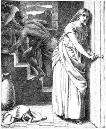 Rahab Receiveth and Concealeth the Spies