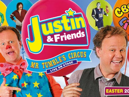 Mr Tumble's Circus Is Coming To Town