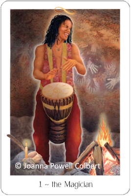 Gaian Tarot The Magician