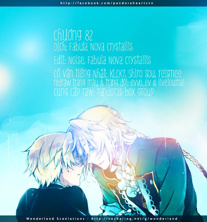 Pandora Hearts chương 082 - retrace: lxxxii wish trang 64