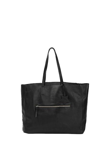 Hush claudine leather shopper