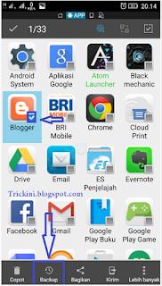 Backup File .apk Dari Aplikasi Yang Terpasang di Android