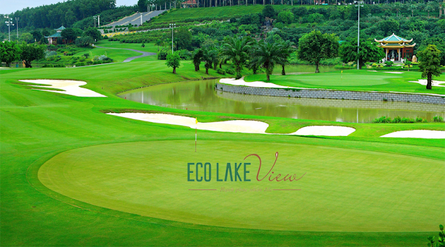 Sân gold Eco lake view