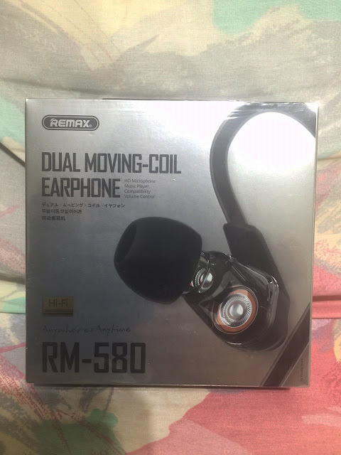 Remax RM 580 Dual Moving Coil Earphone
