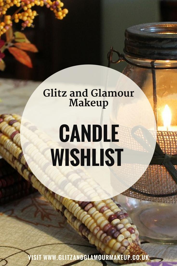 candle wishlist pinterest