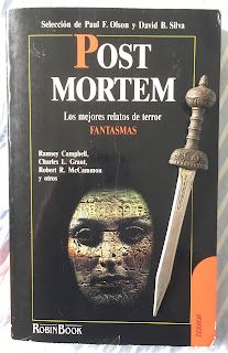 Portada del libro Post mortem
