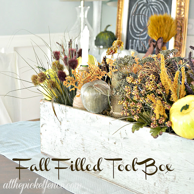 Fall filled tool box