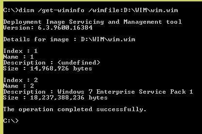 Inject Windows Updates into WIM Image Files Using PowerShell