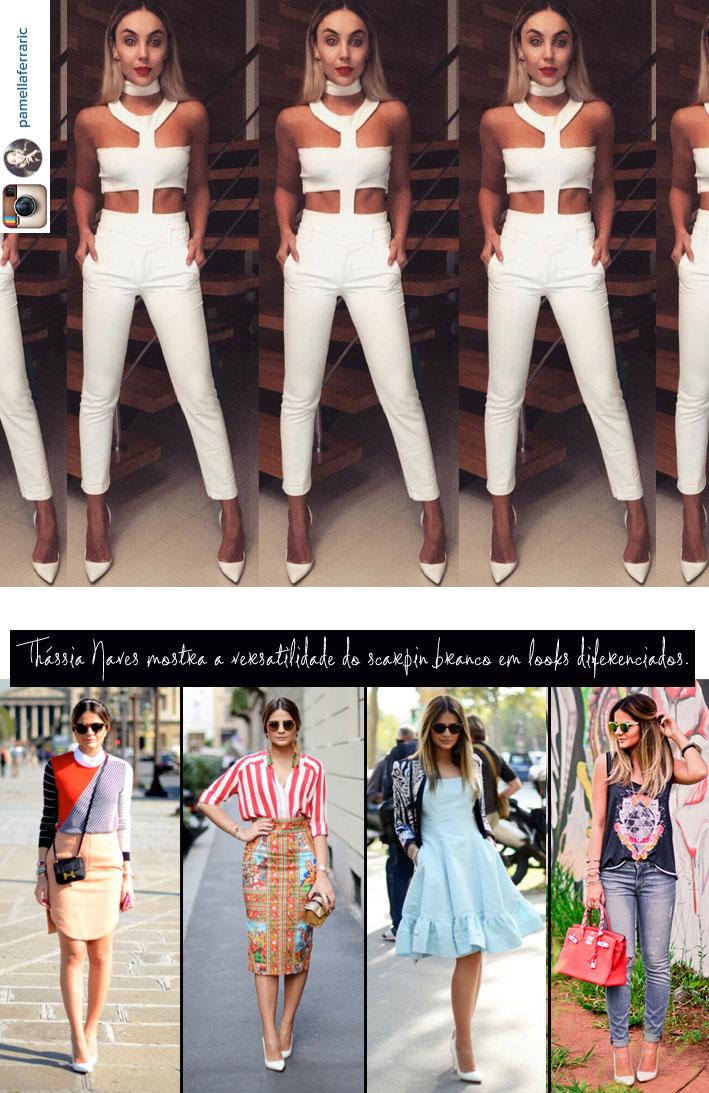 Blog da Jana, Moda, Joinville, estilo, Scarpin Branco