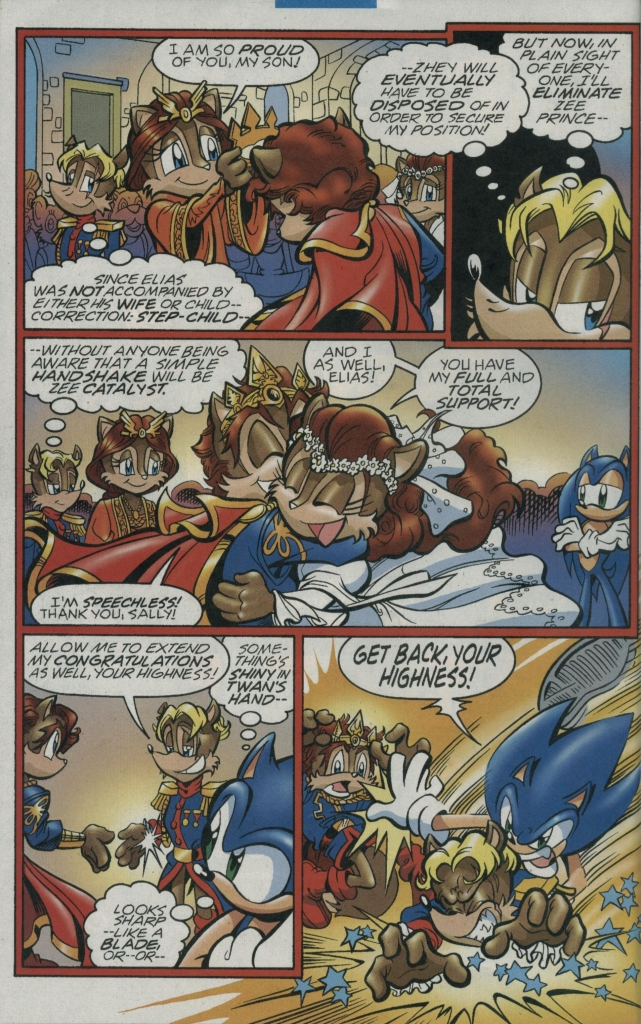 Read online Sonic The Hedgehog comic -  Issue #156 - 18