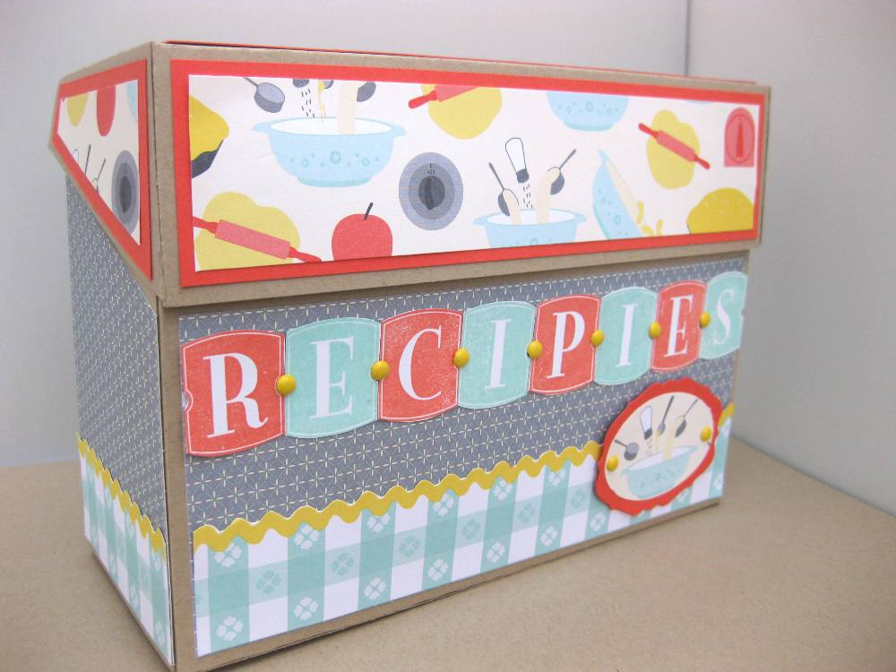 Pinch Top Box Stampin Up Throwback Thursday Jean Piersanti Cards - recipe card