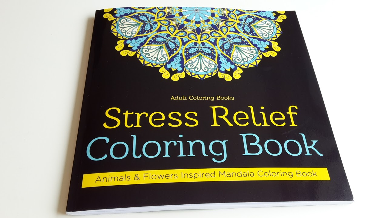Stress Relief Coloring Book Stress Relief Coloring book A Review