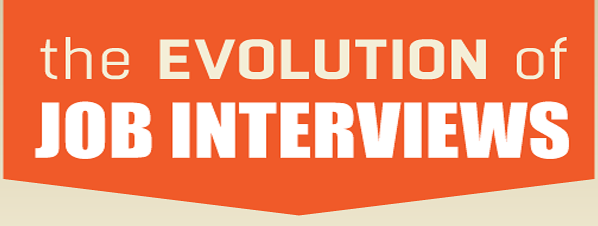 The Evolution Of Job Interview [Infographic]