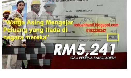 Gaji Bangladesh lebih RM5,000 sebulan. Gaji anda?? Hubungi 0193330342 untuk pastikan income  anda lebih tinggi.