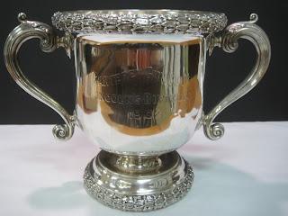 Silver Garteret Gun Club Trophy 1902
