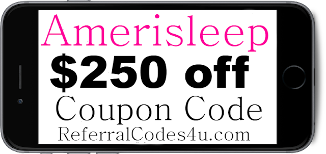 $250 off Amerisleep Discount Code Coupon 2021 Jan, Feb, March, April, May, June