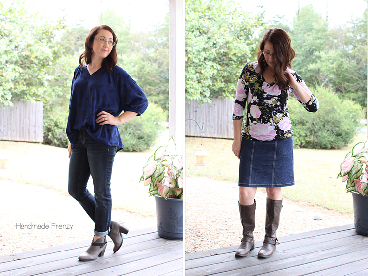 Roscoe Blouse & Union St. Tee // Sewing For Women
