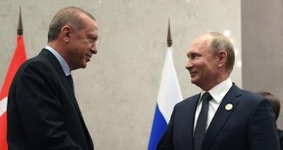 اردوغان و بوتين