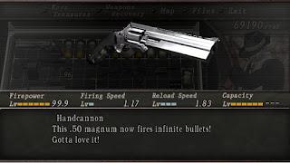 Panduan Lengka Senjata Resident Evil 4