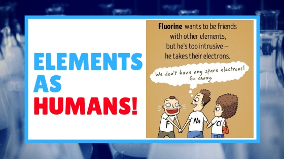 Here's What Chemical Elements Would Look Like If They Were Humans