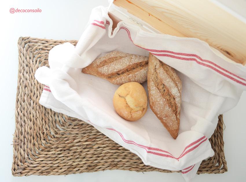 caja para el pan cocina