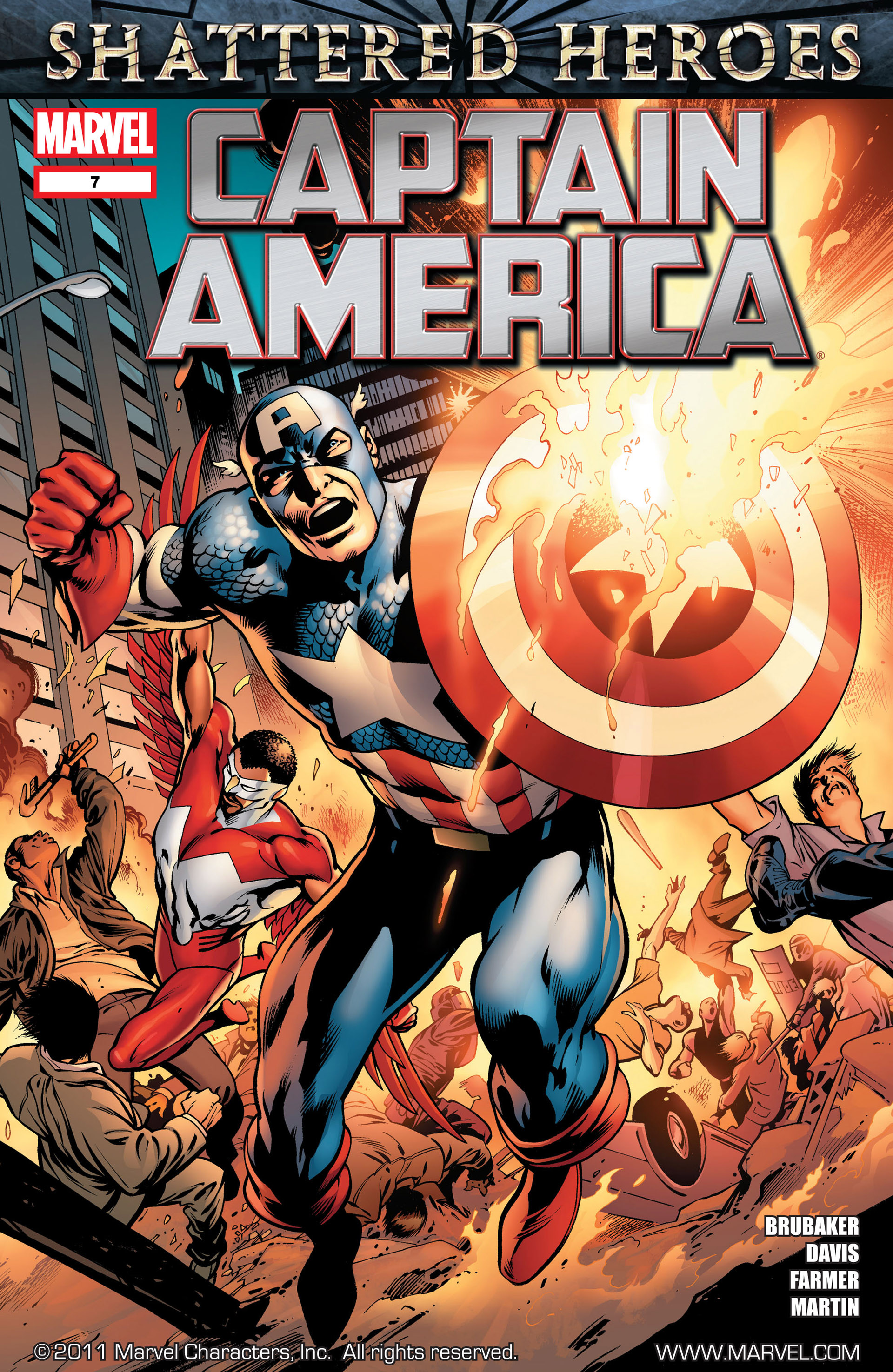 Captain America (2011) 7 Page 1