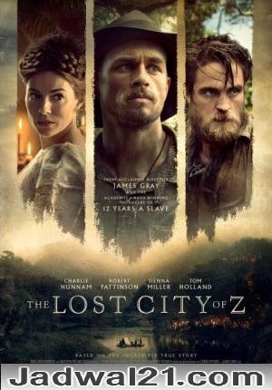 Film The Lost City of Z 2017 Bioskop