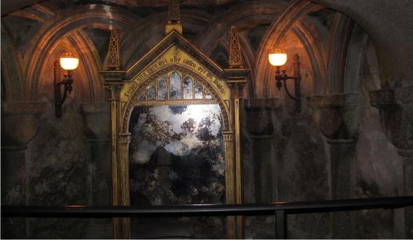 Tag minha vida em hogwarts estante mineira for Miroir harry potter