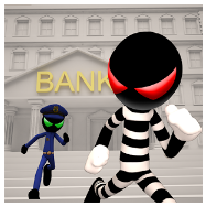 Sticman Bank Robbery Escape Apk