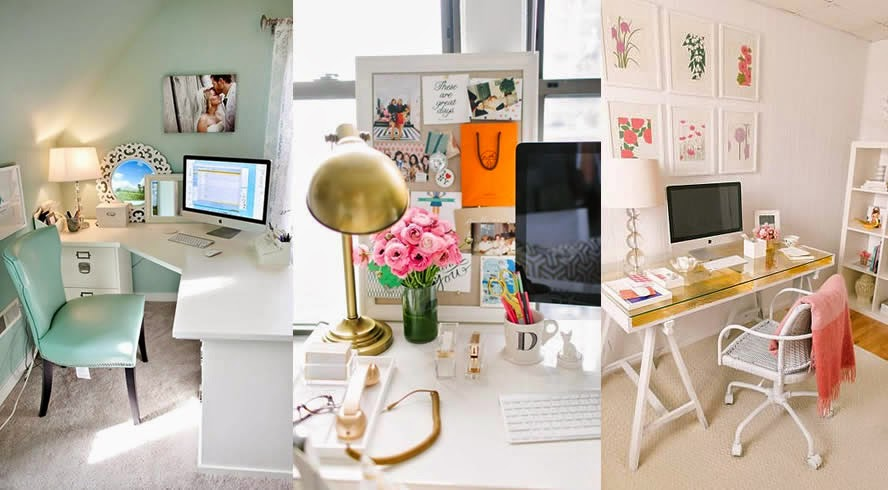 Spring Cleaning Office E Desk Inspiration