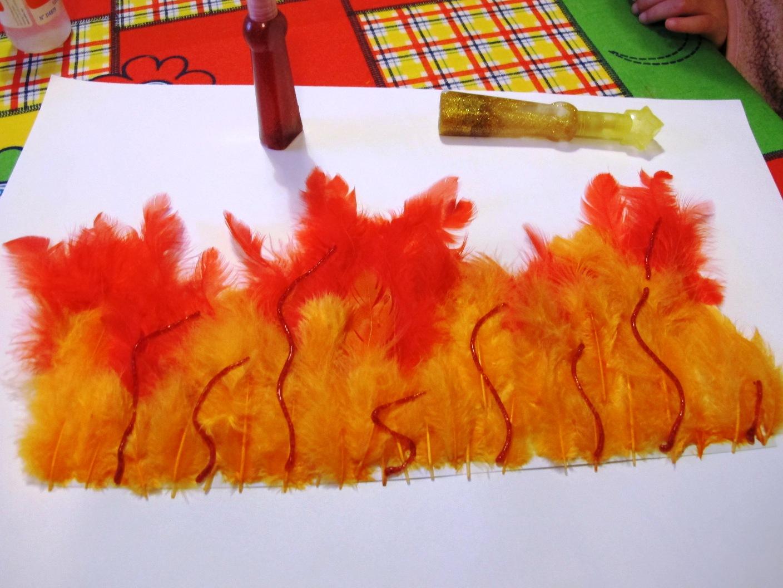 Angolino Di Liana Vestito Carnevale Bambini Il Fuoco