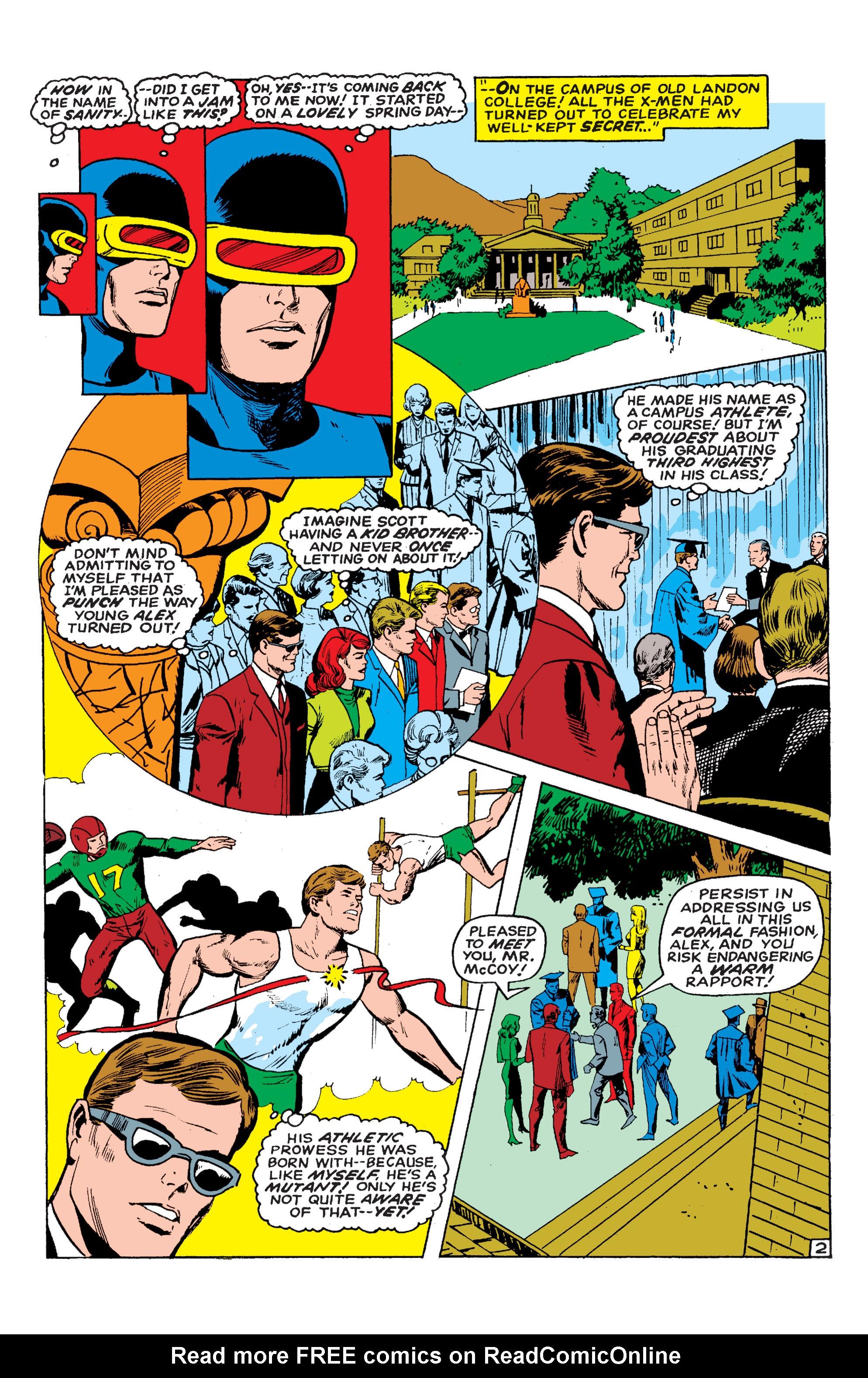 Read online Uncanny X-Men (1963) comic -  Issue #54 - 3