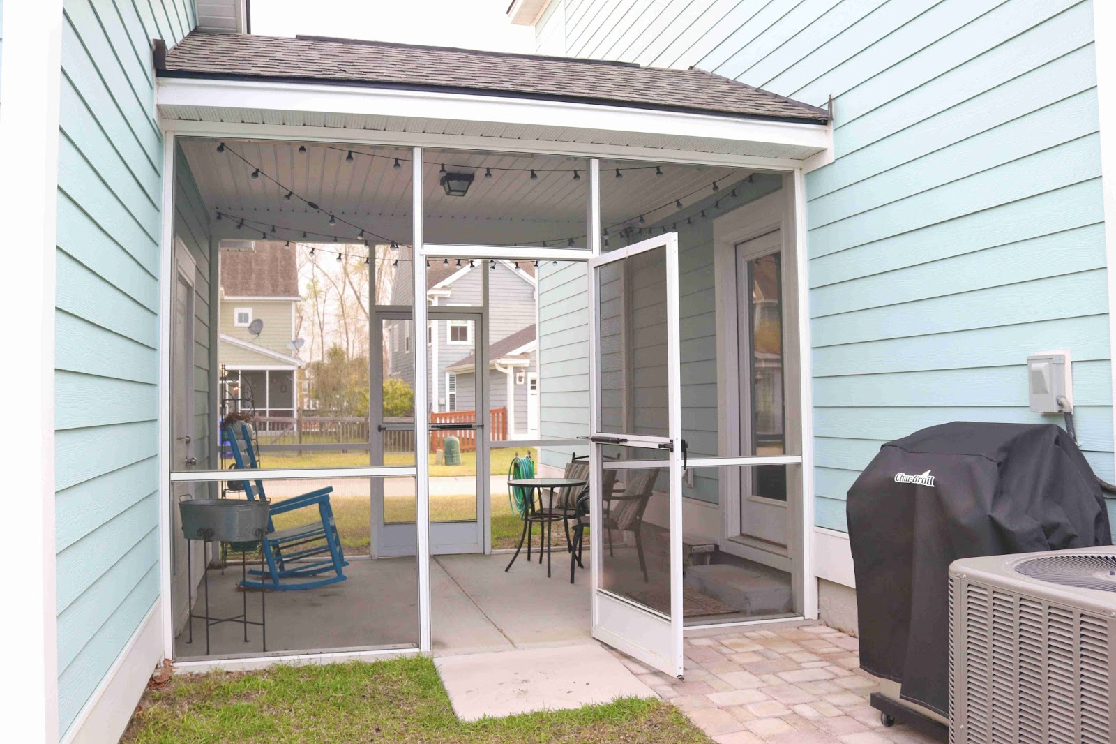 ... Be Redoing Is Our Back Breezeway That Connects Our House And Garage. We  Have A Detached Garage That Faces An Alley Behind Our House. (All Of The  Homes ...