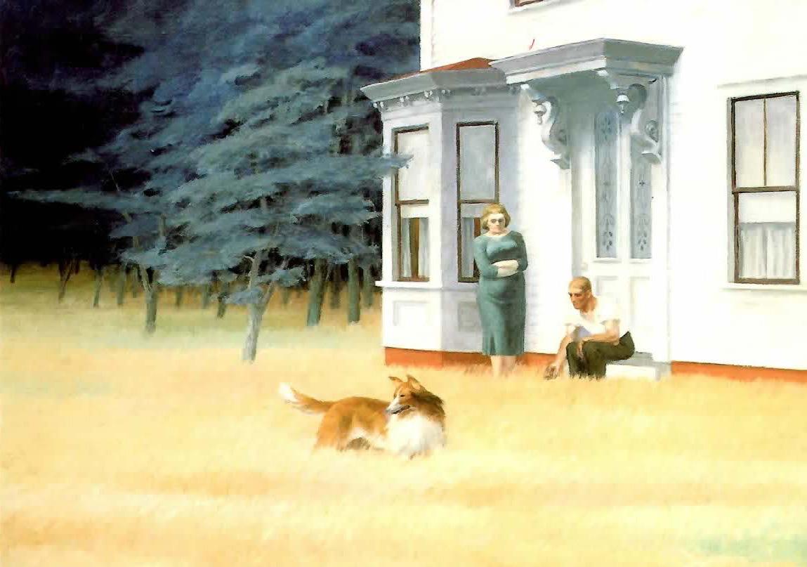 Au Fil De Mes Pas Sous La Palette D Edward Hopper
