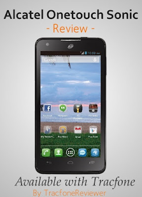 review of the alcatel sonic