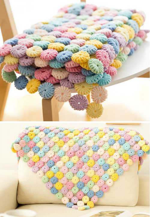 Macaron Blanket - Tutorial