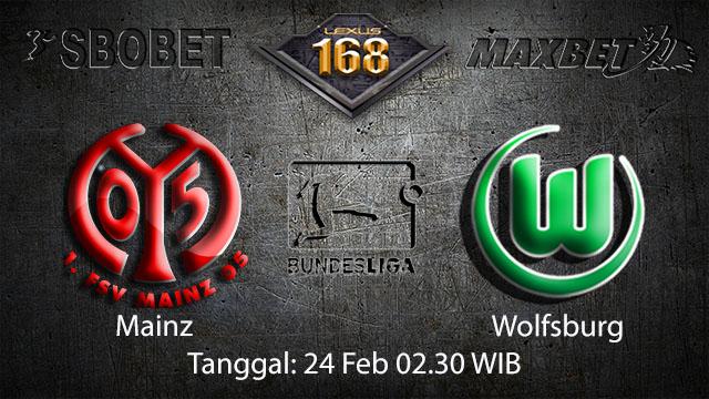 PREDIKSI BOLA - PREDIKSI TARUHAN BOLA MAINZ VS WOLFSBURG 24 FEBRUARI 2018 ( GERMAN BUNDESLIGA )
