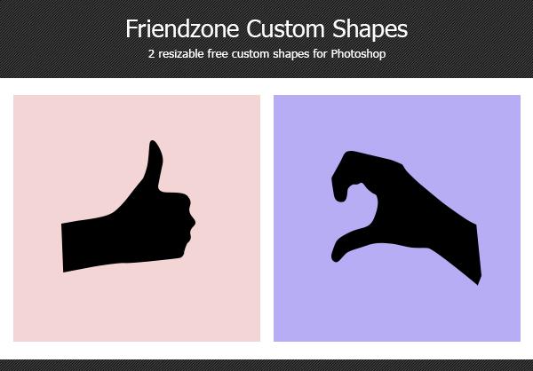 friendzone custom shapes