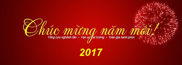 Ảnh bìa facebook tết Định Dậu 2017 đẹp, psd tết 2017 - VanThangit.com