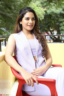 Tanya Hope in Crop top and Trousers Beautiful Pics at her Interview 13 7 2017 ~  Exclusive Celebrities Galleries 140.JPG