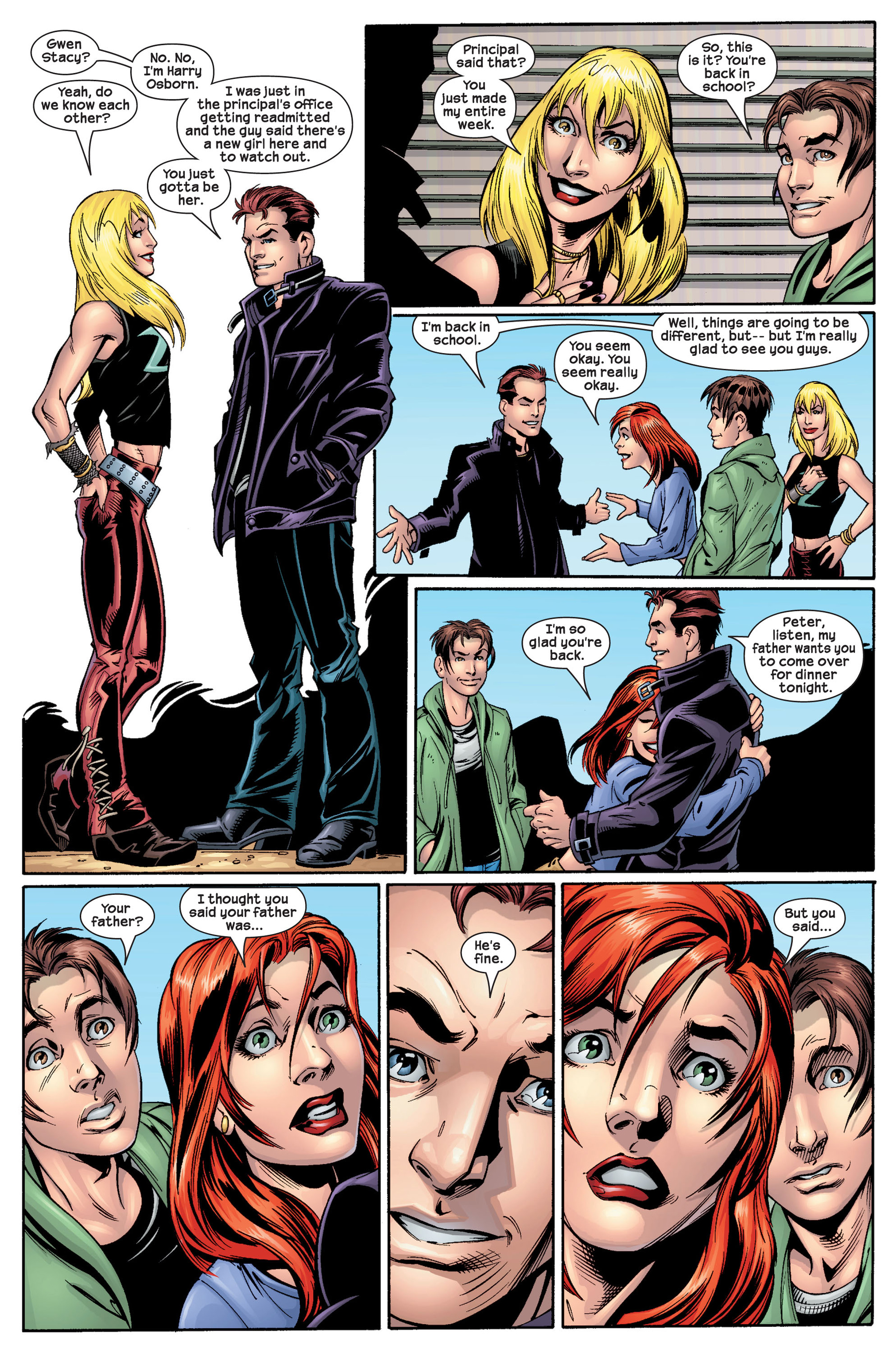 Read online Ultimate Spider-Man (2000) comic -  Issue #22 - 21