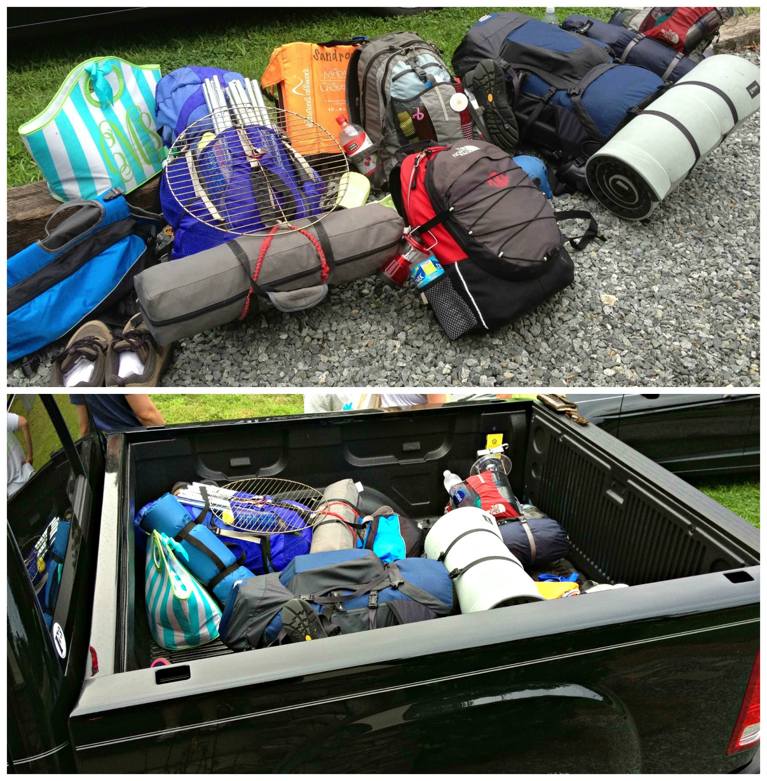 Once We Arrived Loaded Up Our Gear And Hiked About 15 Miles In The Pouring Down Rain