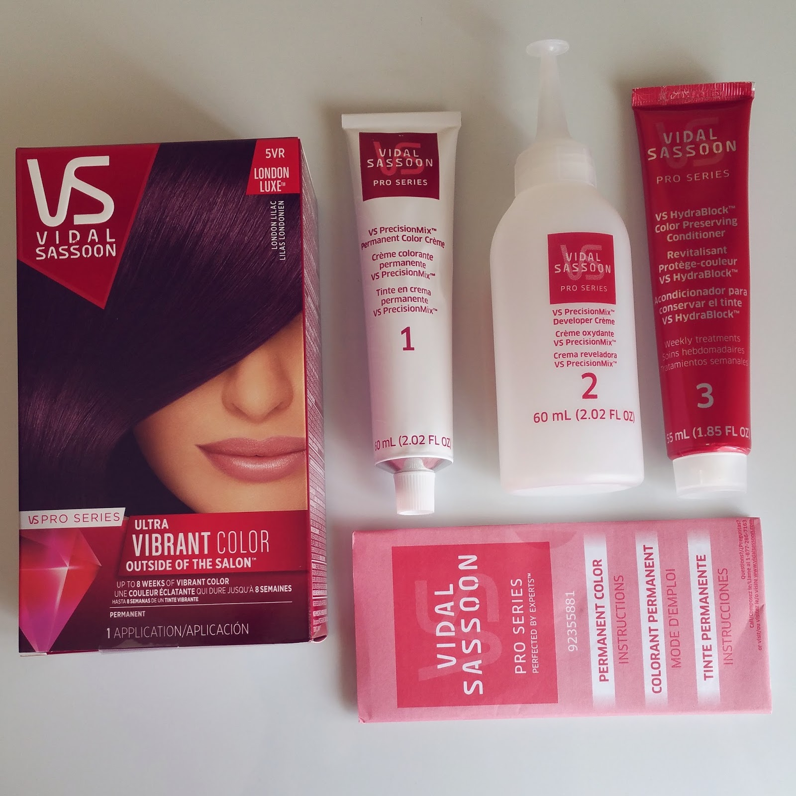 Review Vidal Sassoons London Lilac Pink Petals