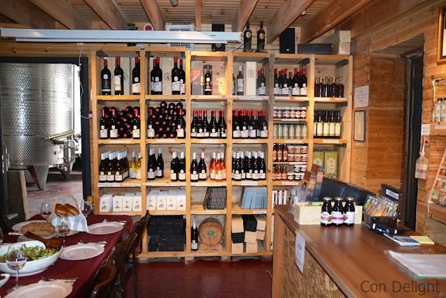 מרכז מבקרים טורא Tura winery visitor center