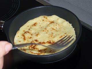 elaboración de creps o tortitas 5