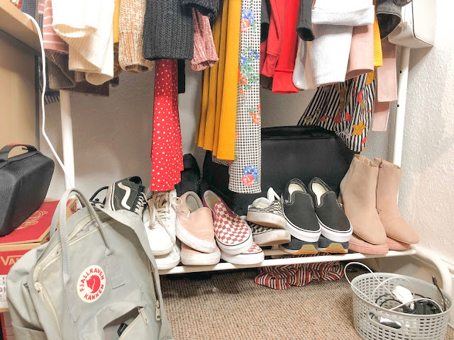 justalittlebitoflauryn shoes and wardrobe clothes
