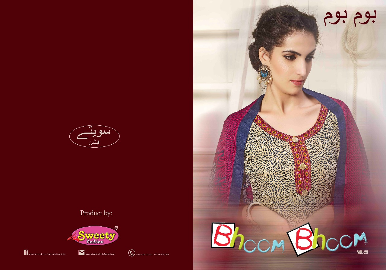 BHOOM-BHOOM-29 – New Arrival Soft Cotton Dress Material