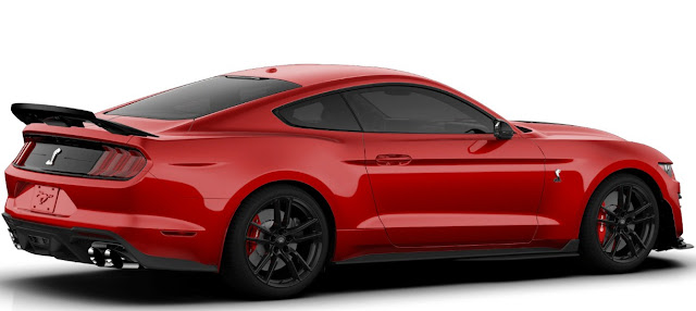 New Ford Mustang Shelby GT500 wheels