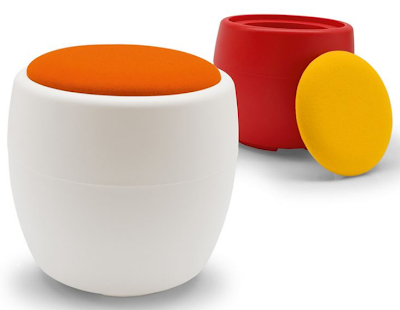 storage stool / pouff