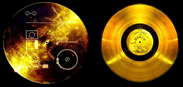 disco de ouro Voyager Golden Record
